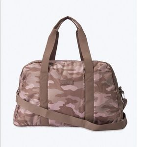 Pink Victoria's Secret Camouflage Duffle Bag NEW